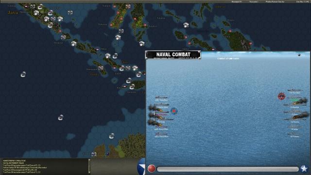 неММО: WITP AE - Классическая надводная битва флотов