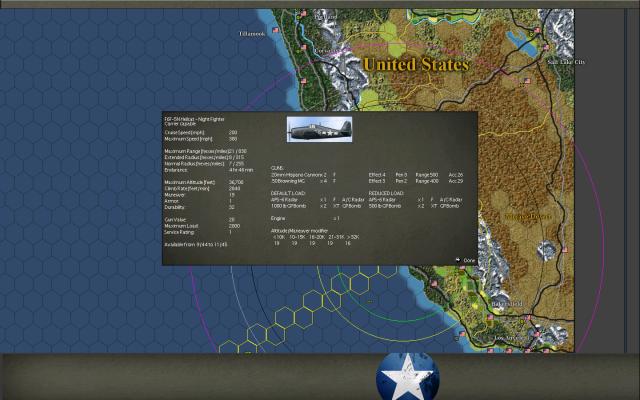 неММО: WITP AE - Статы самолета