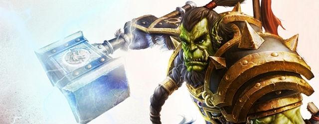 World of Warcraft: Блог им. Jmur: Зеленый орк врывается в Дренор.