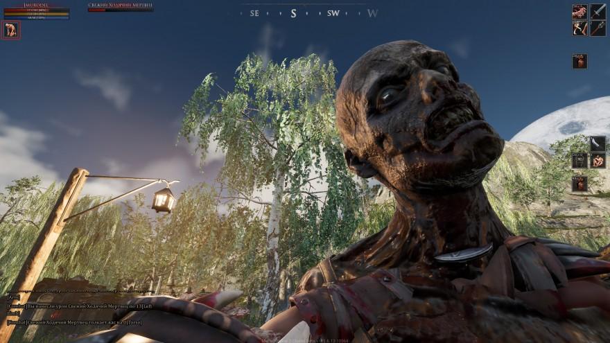 Mortal Online 2: На самом деле сделать такой скриншот просто. Для этого нужно всего лишь… застрять в зомби