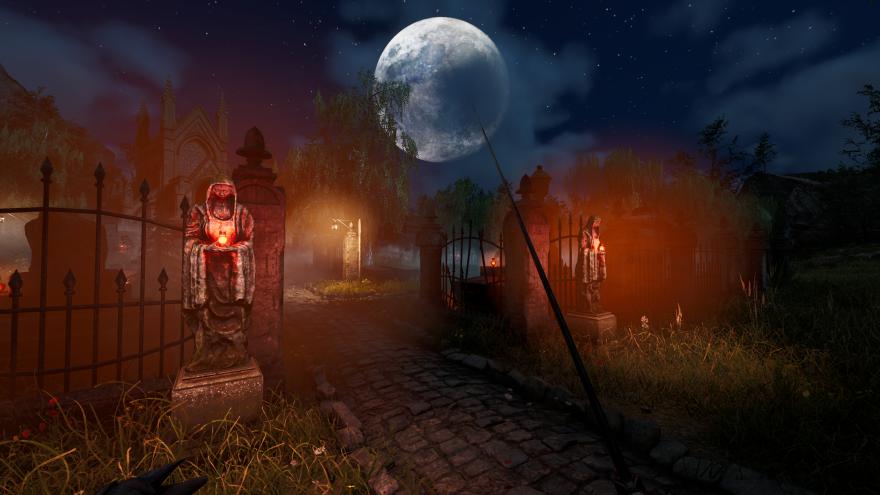 Mortal Online 2: Ночью на кладбище опустился туман