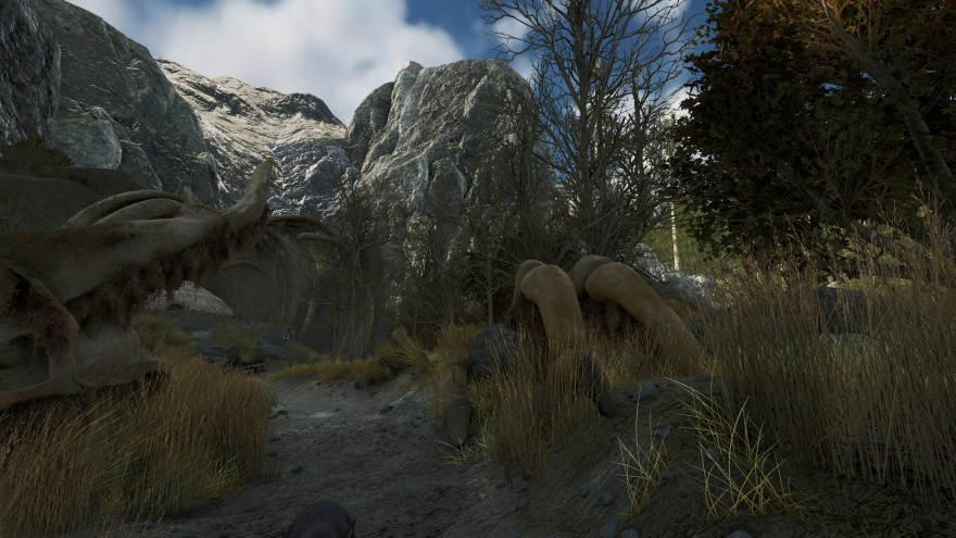 Mortal Online 2: Скелет дракона органично вплетён в местную архитектуру