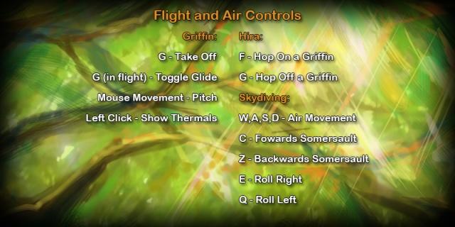 Wander: Управление в полете и прыжке