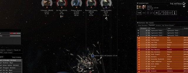EVE Online: Блек Легион потерял 26 мазеров