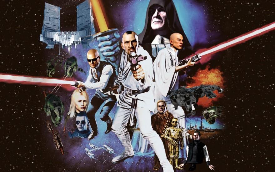 EVE Online: Коллаж лидеров РУалли в роли героев Звёздных войн
