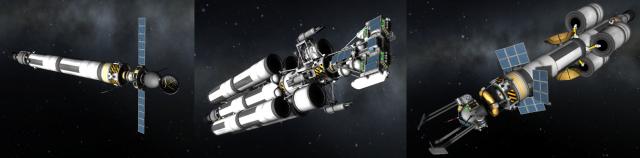 Kerbal Space Program: Корабли к Мохо