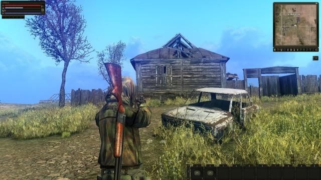 """Блог им. Deenar: Мертвая деревня, мертвый """"Жигуль"""""""