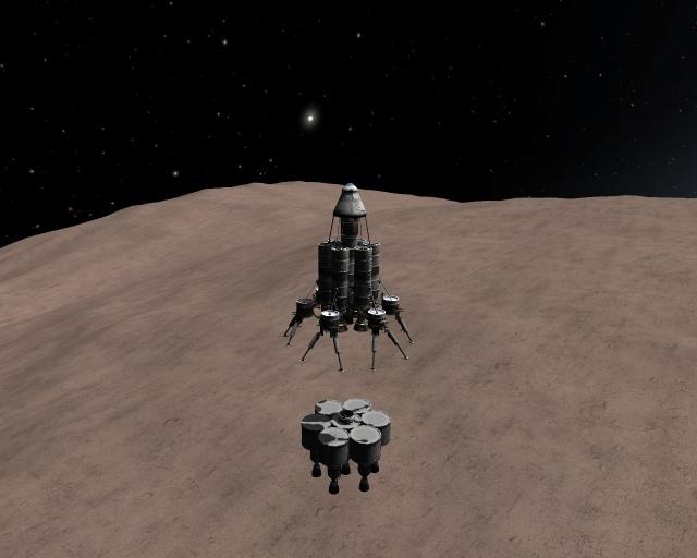 Kerbal Space Program: Художественное описание одной посадки