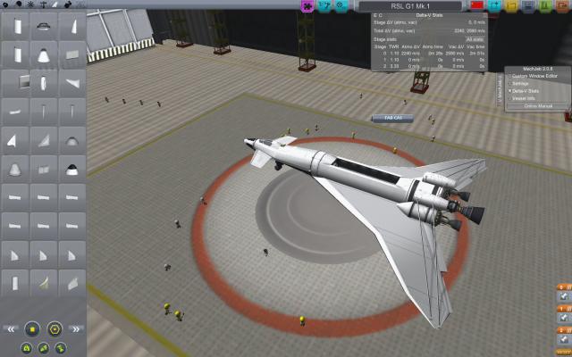 Kerbal Space Program: Первая модель.