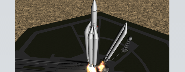 Kerbal Space Program: УР-700 в RO