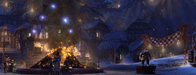 Из никогда в сейчас. Праздник Зимы в Neverwinter Online.