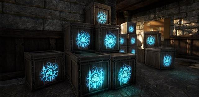 The Elder Scrolls Online: сундуки