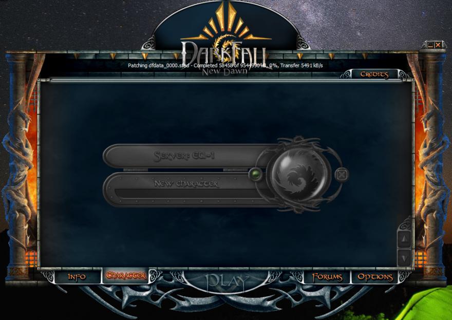DarkFall: лаунчер