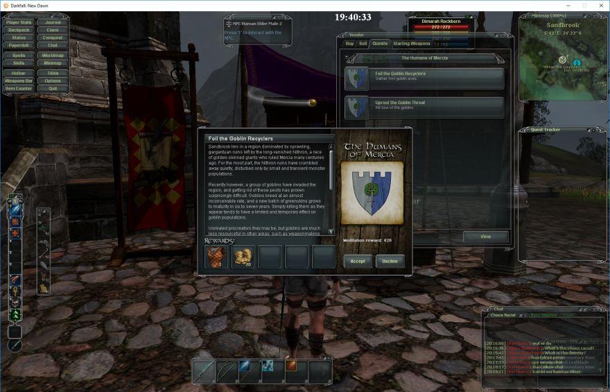 DarkFall: описание квеста и награда
