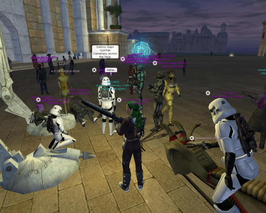 Star Wars Galaxies: SWG Мехом наружу: переделка системы характеристик в CombatUpgrade