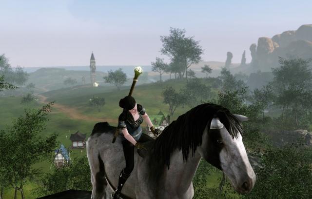 ArcheAge: Я люблю свою лошадку