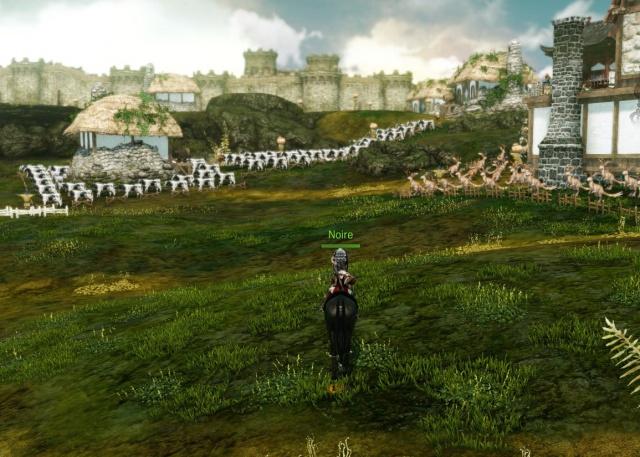 ArcheAge: Подходы к замку