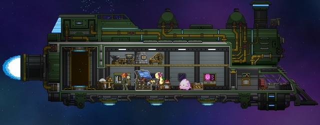 Starbound: На неведомых дорожках ч.3 Наш паровоз вперед летит!