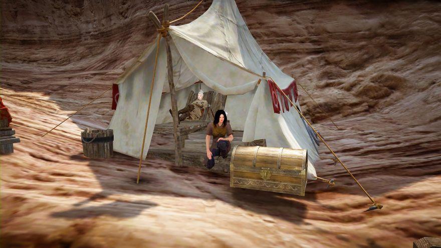 Black Desert: Простой рецепт... Devina и Laestafer, пикник на обочине океана