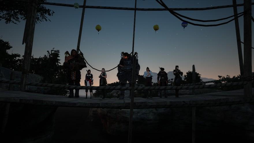 Black Desert: Как Пилигримы и Мася на остров Зинборэй плавали