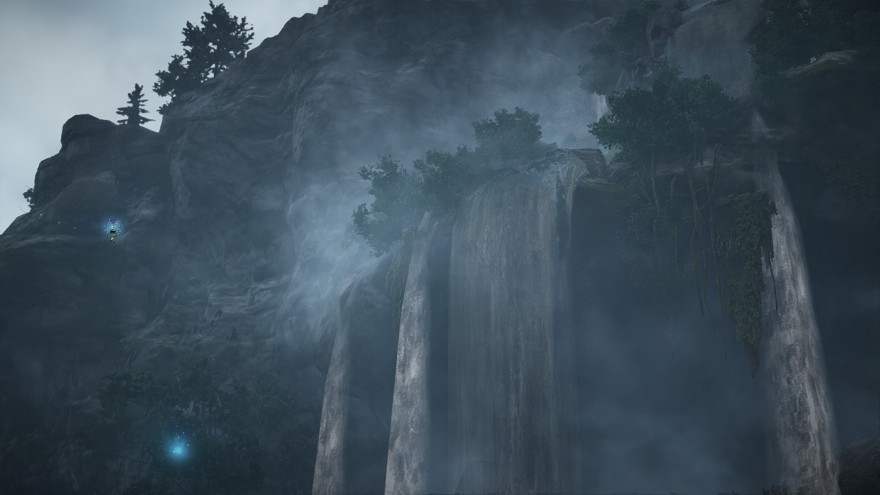 Водопады Black Desert
