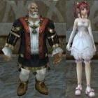 гномы, свадебные костюмы