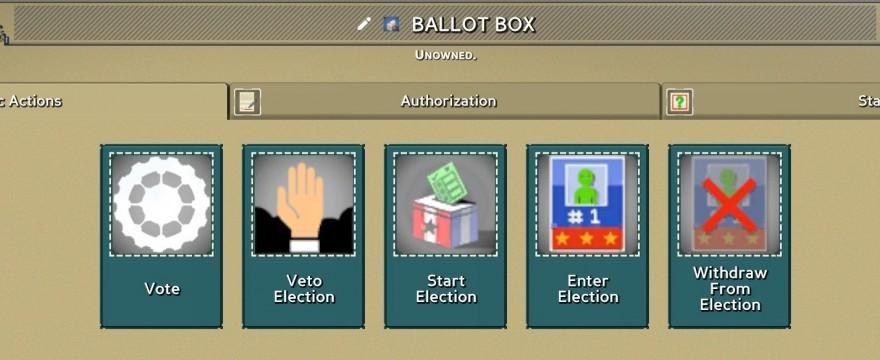 Девблог Eco 9.0: Голосование и выборные должности