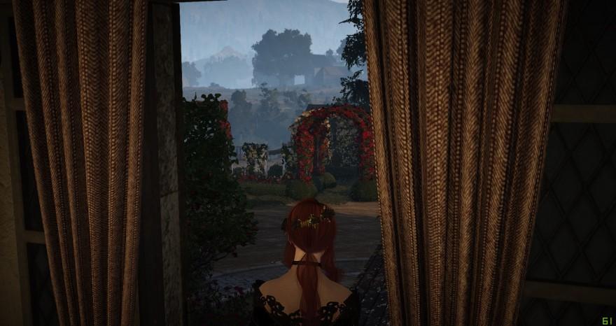 Black Desert: из окна дома