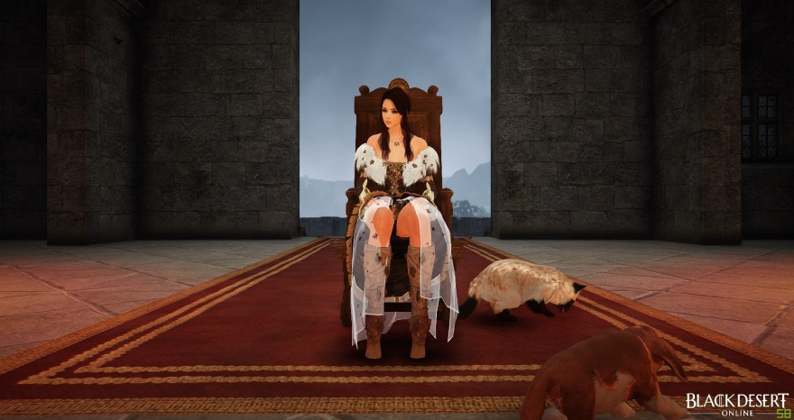 Black Desert: Наряд для королевы