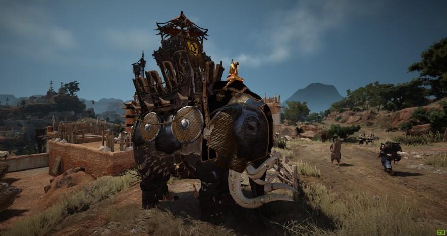 Black Desert: Клановые механики: осадные слоны