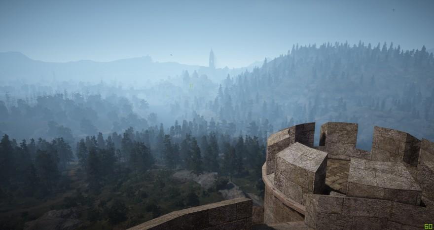 Black Desert: Вид на Кальфеон (на восток)