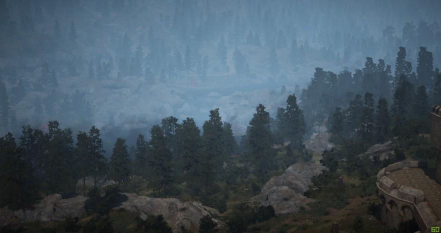 Black Desert: Вид на лес (юго-запад)