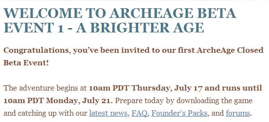 ArcheAge: Веселый старт