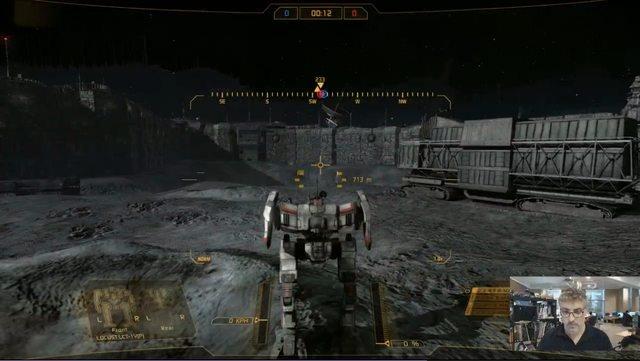 Mechwarrior Online: UI 2.0, DX11 + Новая карта Луна/космическая станция
