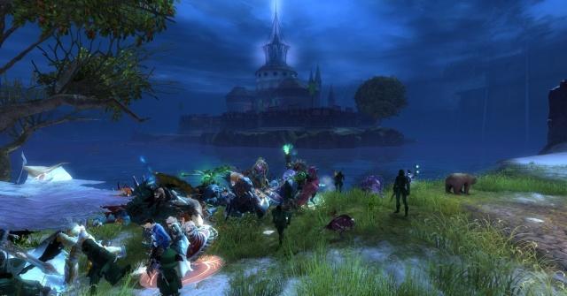 Guild Wars 2: Старые добрые бордеры