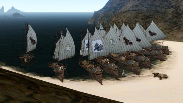 Представьте: Мирная игра: воспоминания, часть 4. Корабли и сокровища