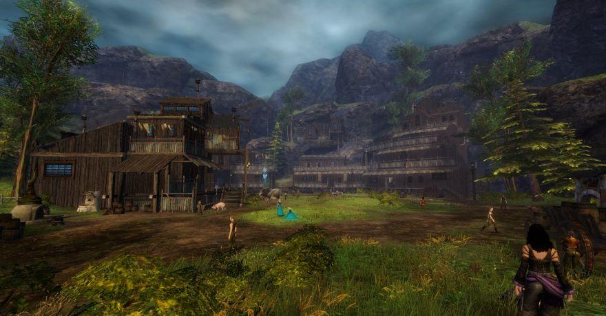 Guild Wars 2: Озеро Дорик