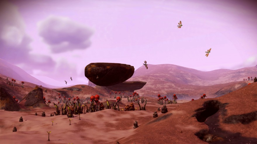 No Man's Sky: Поиски места для дачи