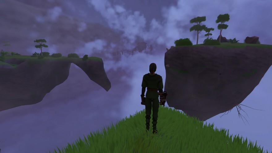 Worlds Adrift: Крепость, крушение и неожиданная встреча