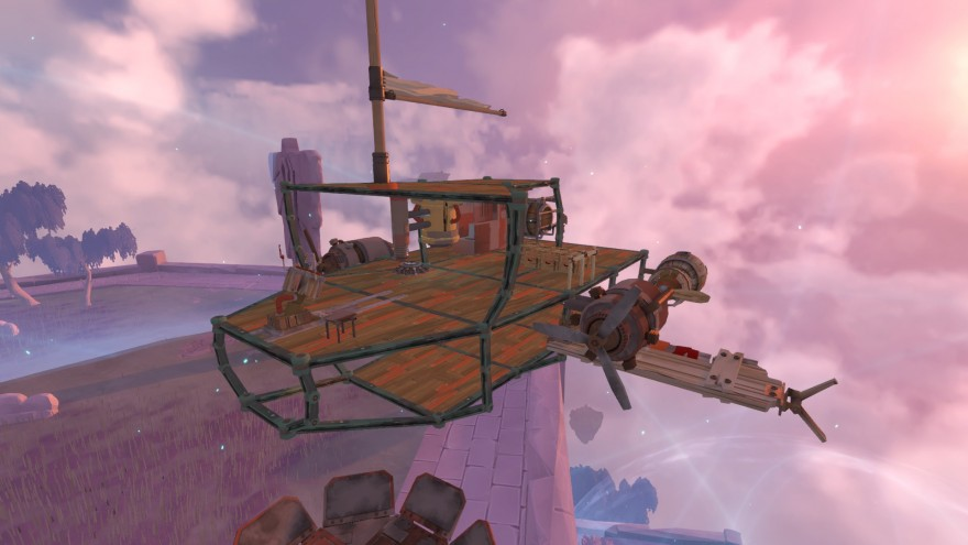 Worlds Adrift: Зачарованный бастион
