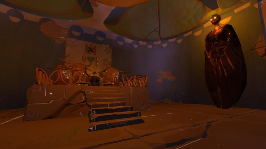 Worlds Adrift: Торговый дом и регион круглых зданий