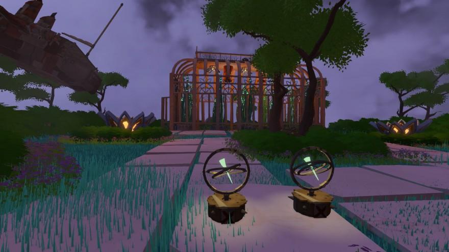 Worlds Adrift: Оранжерея и штормовая стена