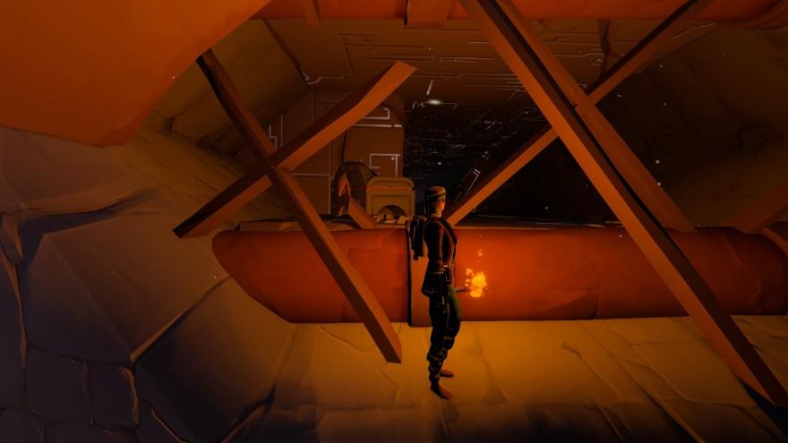 Worlds Adrift: Дома-ёлочки и памятник игре
