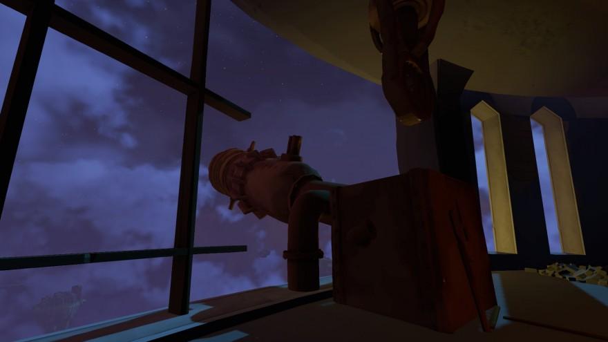 Worlds Adrift: Обсерватория и остров для пикника