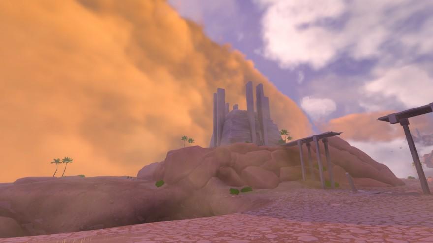 Worlds Adrift: Бермудский остров и песчаная стена