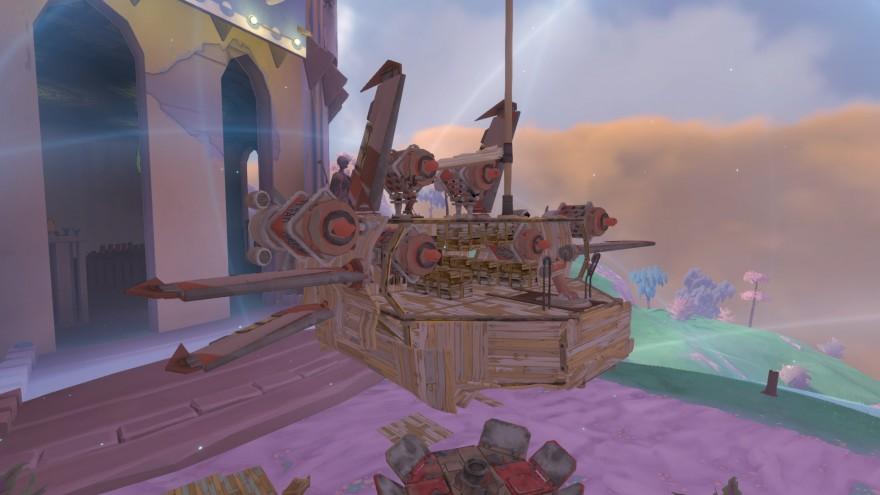 Worlds Adrift: Коварные пираты и кораблик поменьше