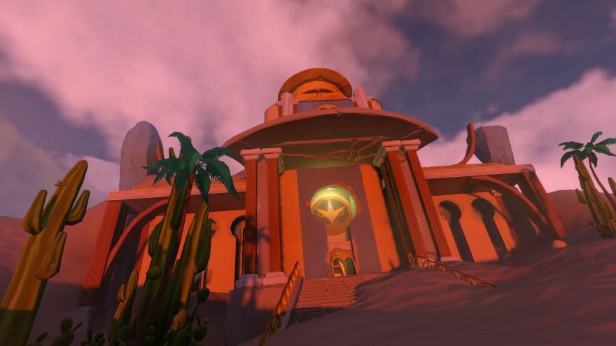 Worlds Adrift: Безумный особняк, ястреб и зелень