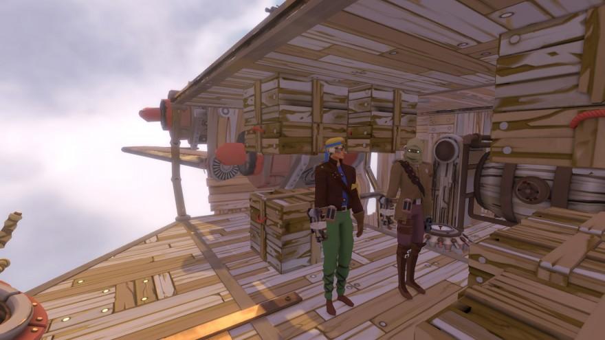Worlds Adrift: Корабль возмездия и тестирование перегрева