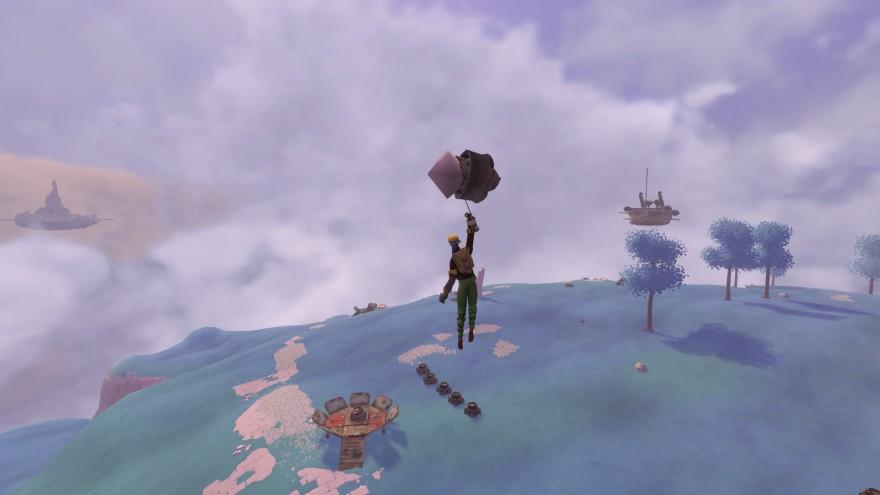 Worlds Adrift: Зелёный кораблик и зловещий тлен