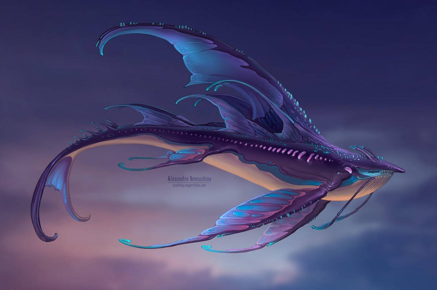 Истории Worlds Adrift: брюхо небесного китёнка